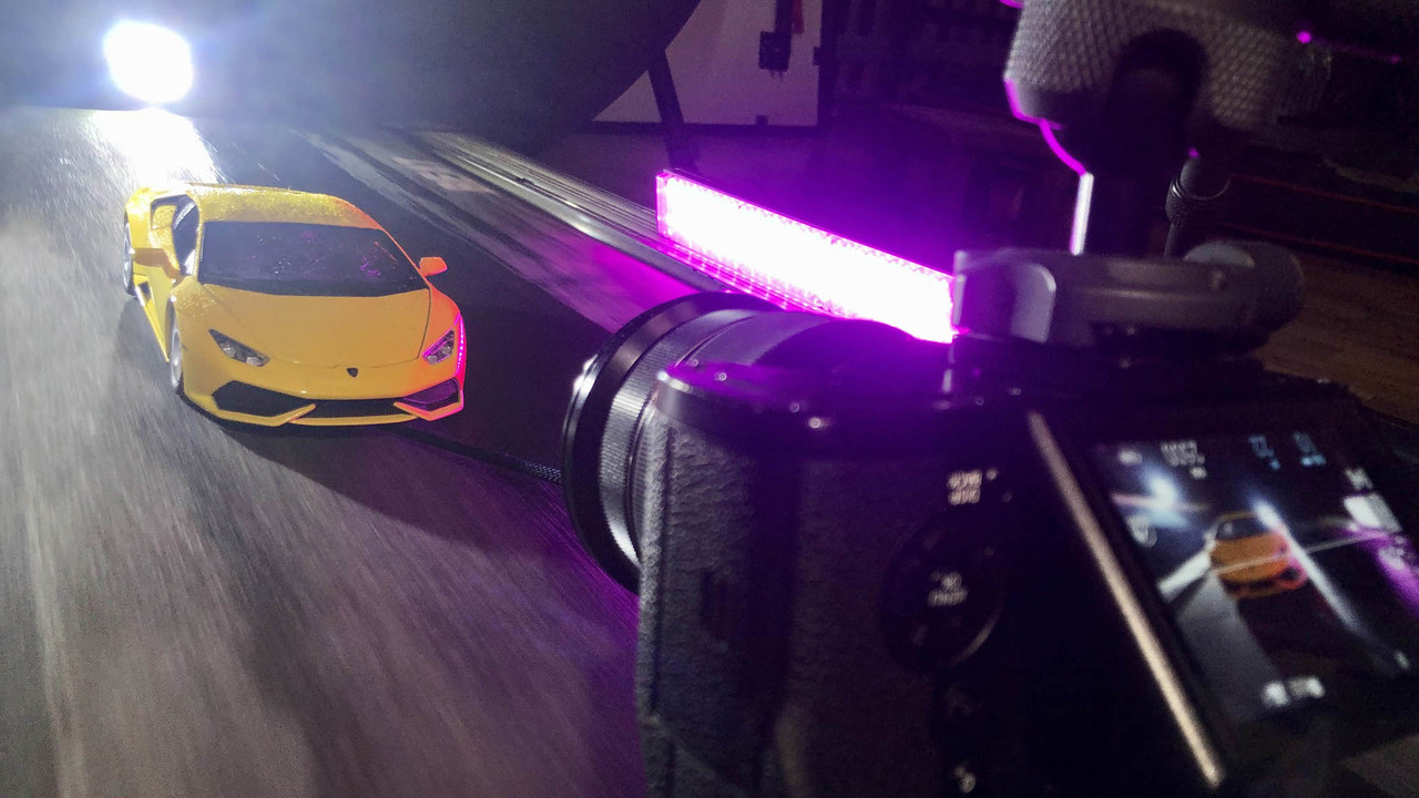 Lamborghini Huracán Scale Model Photo Shoot - Behind the Scenes