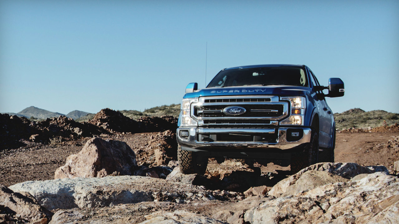 Behind the Wheel: Off-Roading in the 2020 Ford Super Duty Tremor
