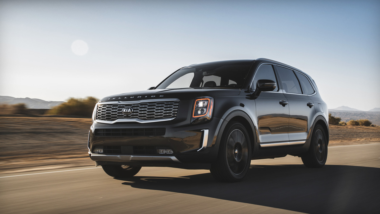 2020 MotorTrend SUV of the Year: the Kia Telluride