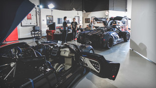 MotorTrend Insider: Pagani Huayra Roadster BC Stops by Ahead of The Quail