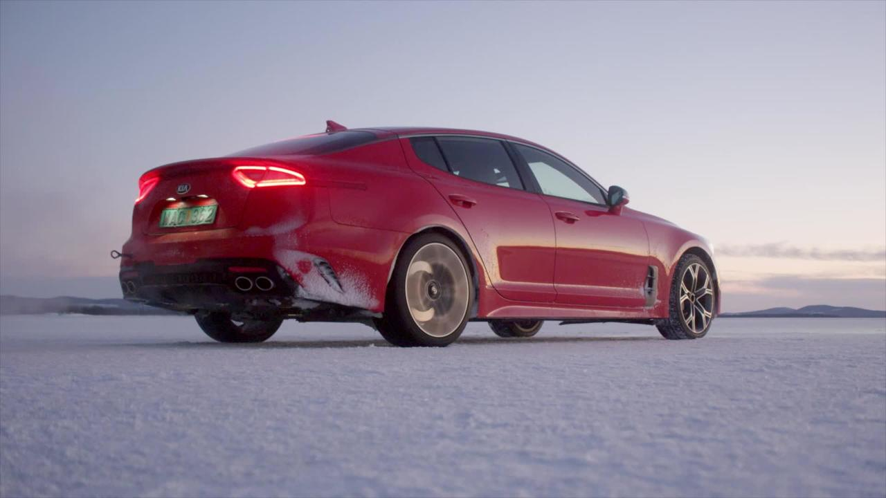 2018 Kia Stinger GT Winter Testing
