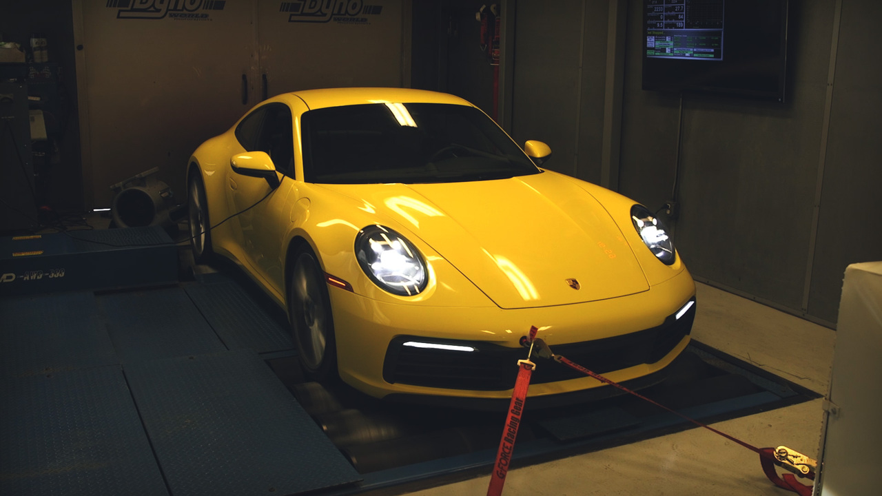 Watch This! Running a 2019 Porsche 911 Carrera S on the Dyno
