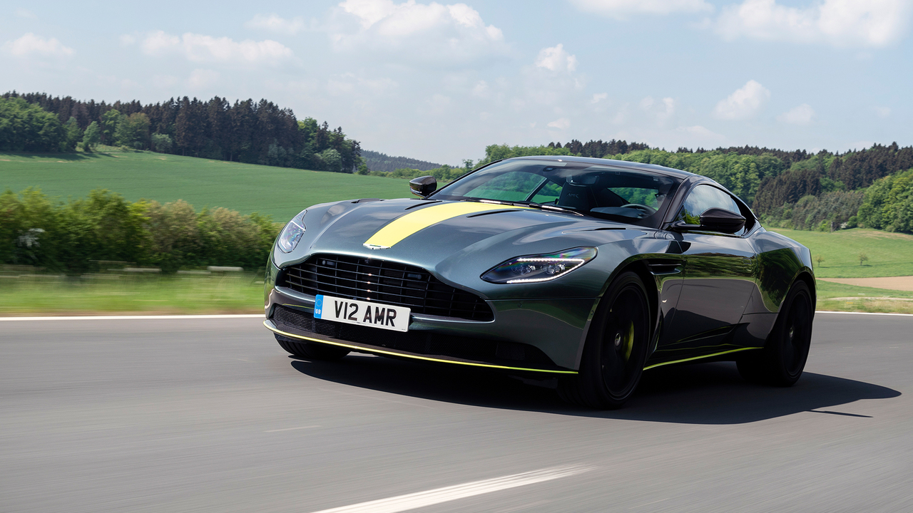 Behind the Wheel of the New Aston Martin DB11 AMR