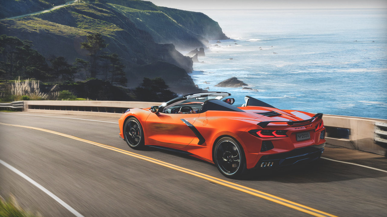 From the Press Room: the 2020 Chevrolet Corvette Convertible