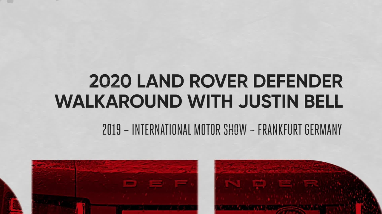 Walkaround: the New 2020 Land Rover Defender
