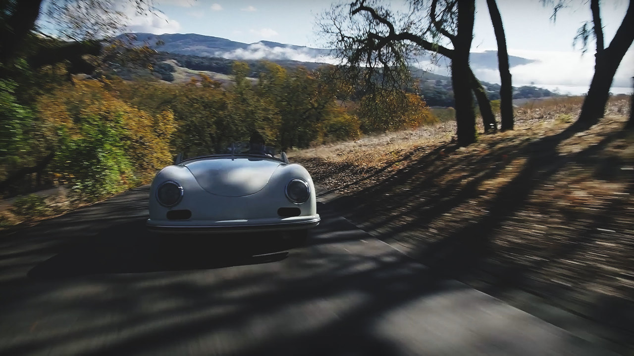Porsche 356 America Roadster v 2019 Porsche Speedster: Driving the Oldest and Newest Porsche Droptops
