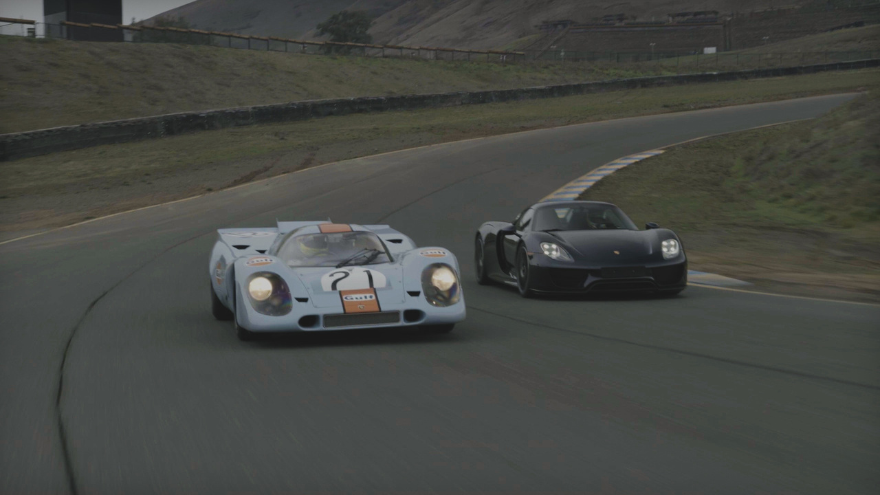 Porsche 917 vs. Porsche 918 Spyder: Race car Meets Supercar