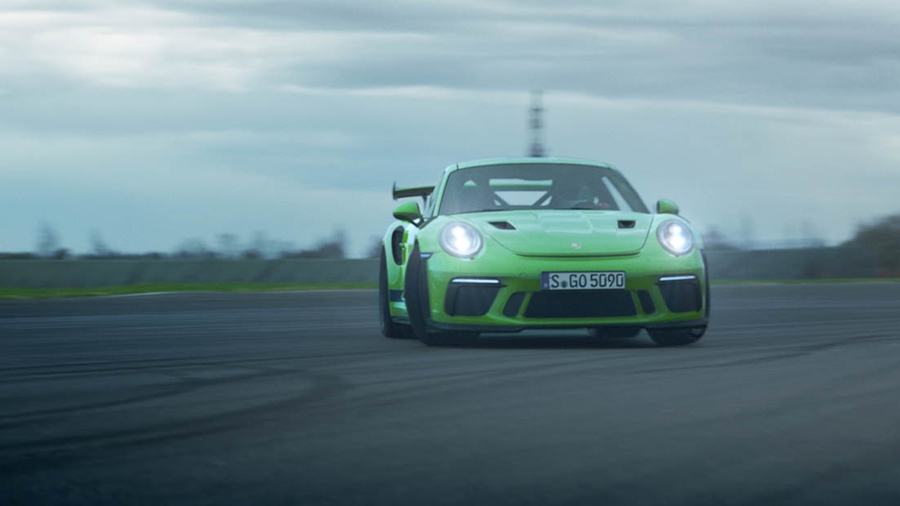 Behind the Wheel of the 2018 Porsche 911 GT3 RS