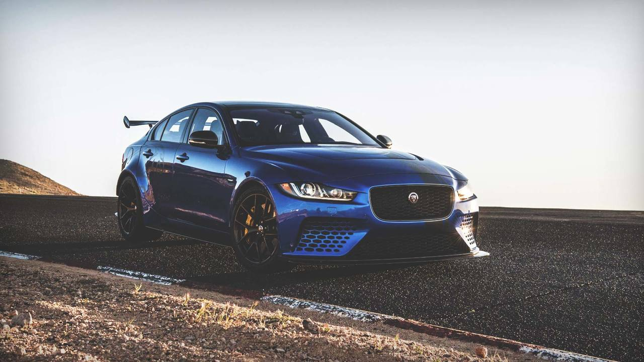 Hot Lap: the Jaguar XE SV Project 8 at Willow Springs