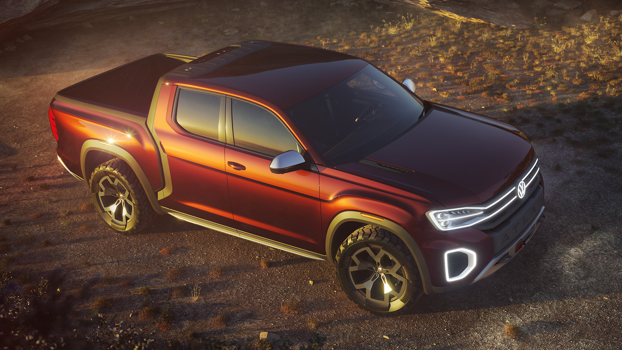 Driving Volkswagen's First U.S. Pickup Truck Since 1984