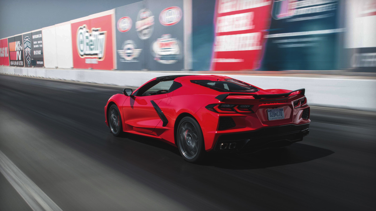 How to Use Launch Control and Burn-out Mode on the 2020 Chevy Corvette C8