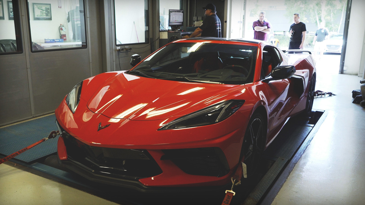 Watch This! Running a Corvette C8 on the Dyno