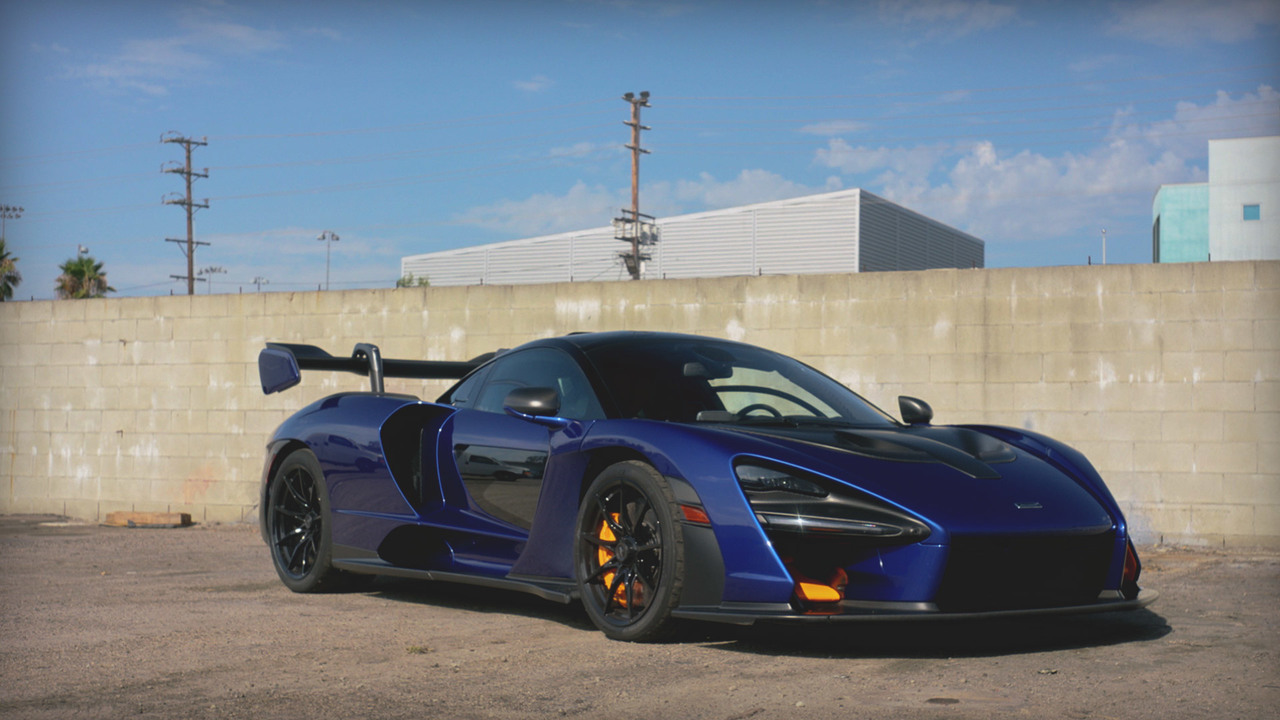 Behind the Wheel: the 2019 McLaren Senna