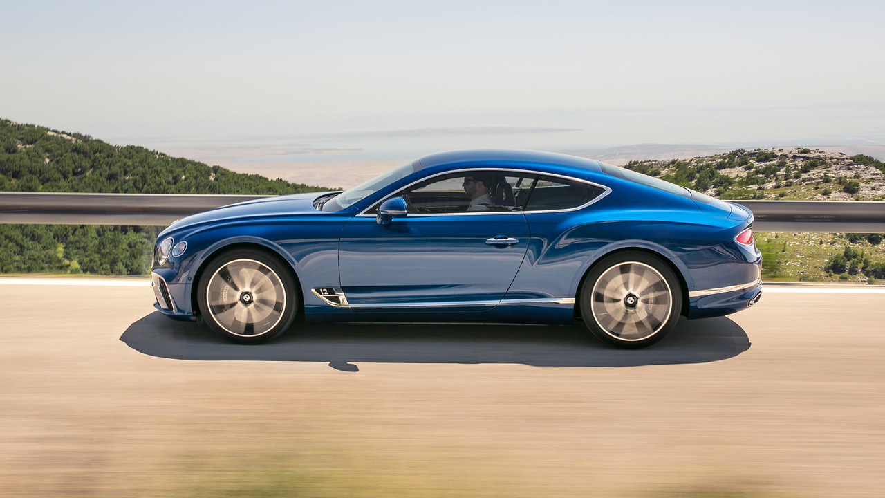 Behind the Wheel of the 2019 Bentley Continental GT