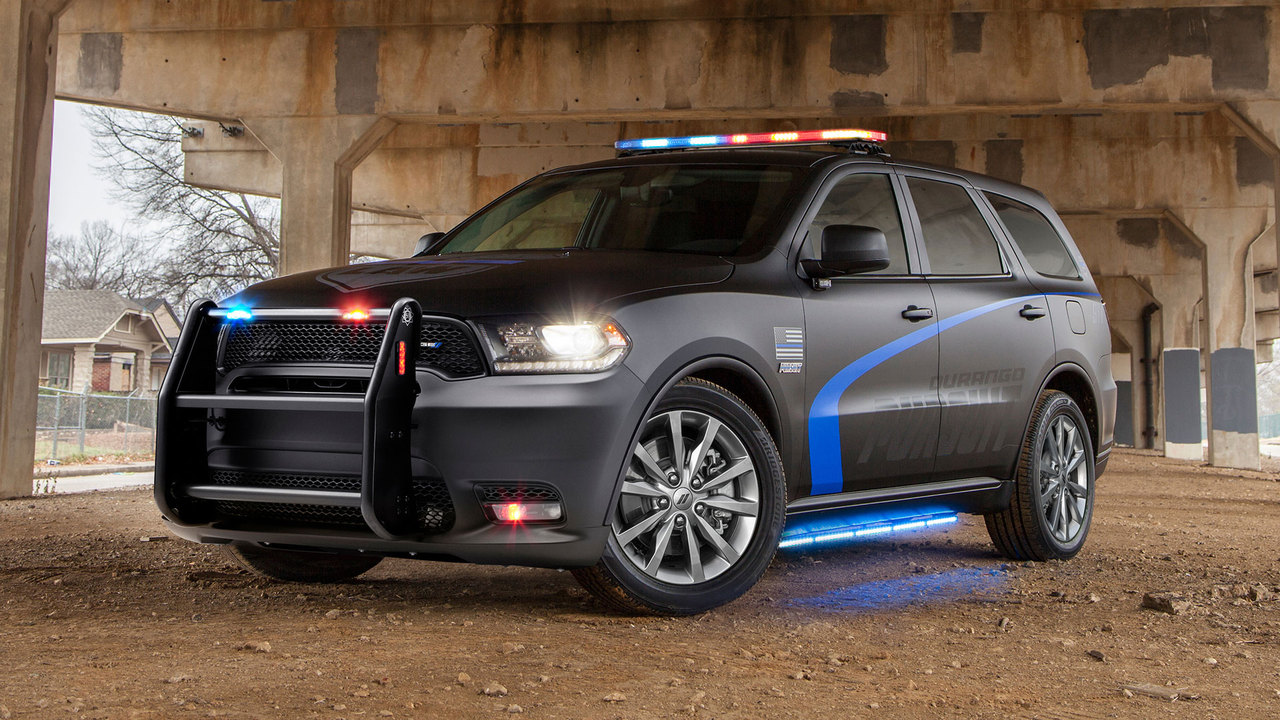 Behind the Wheel: The Dodge Durango Pursuit Police SUV
