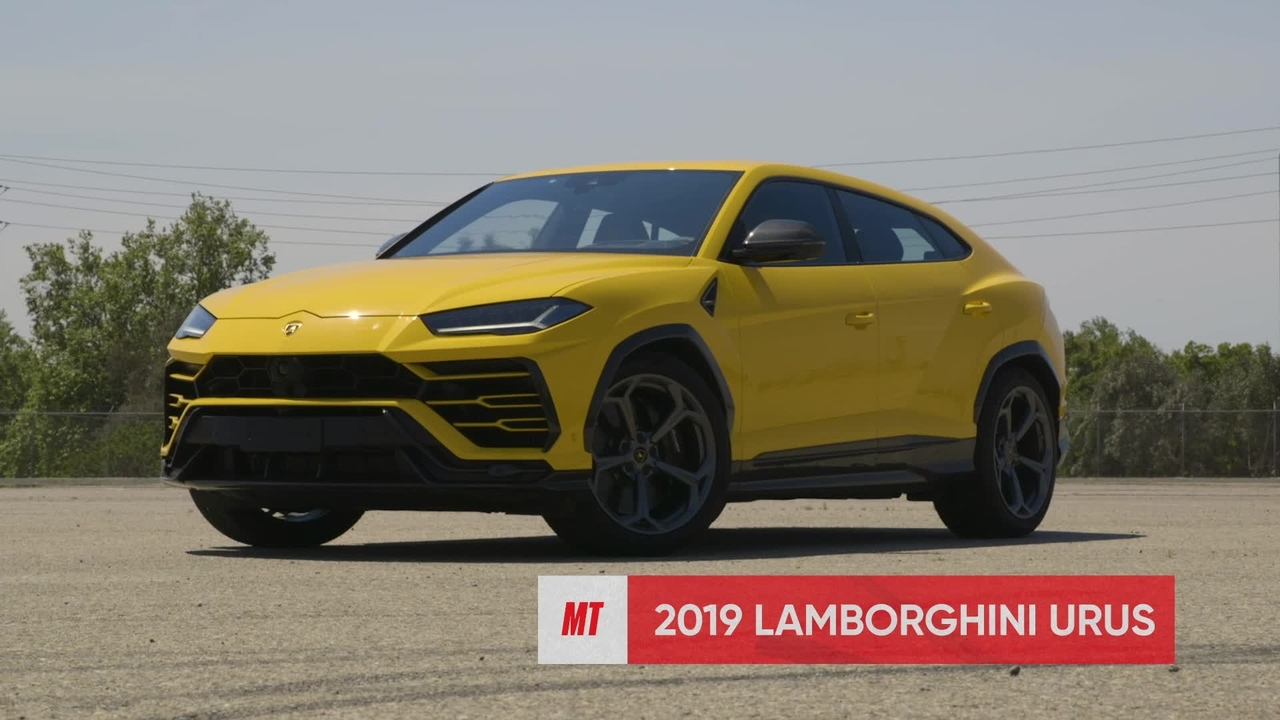 Watch This! Lamborghini Urus vs. Porsche Cayenne Turbo at the Track