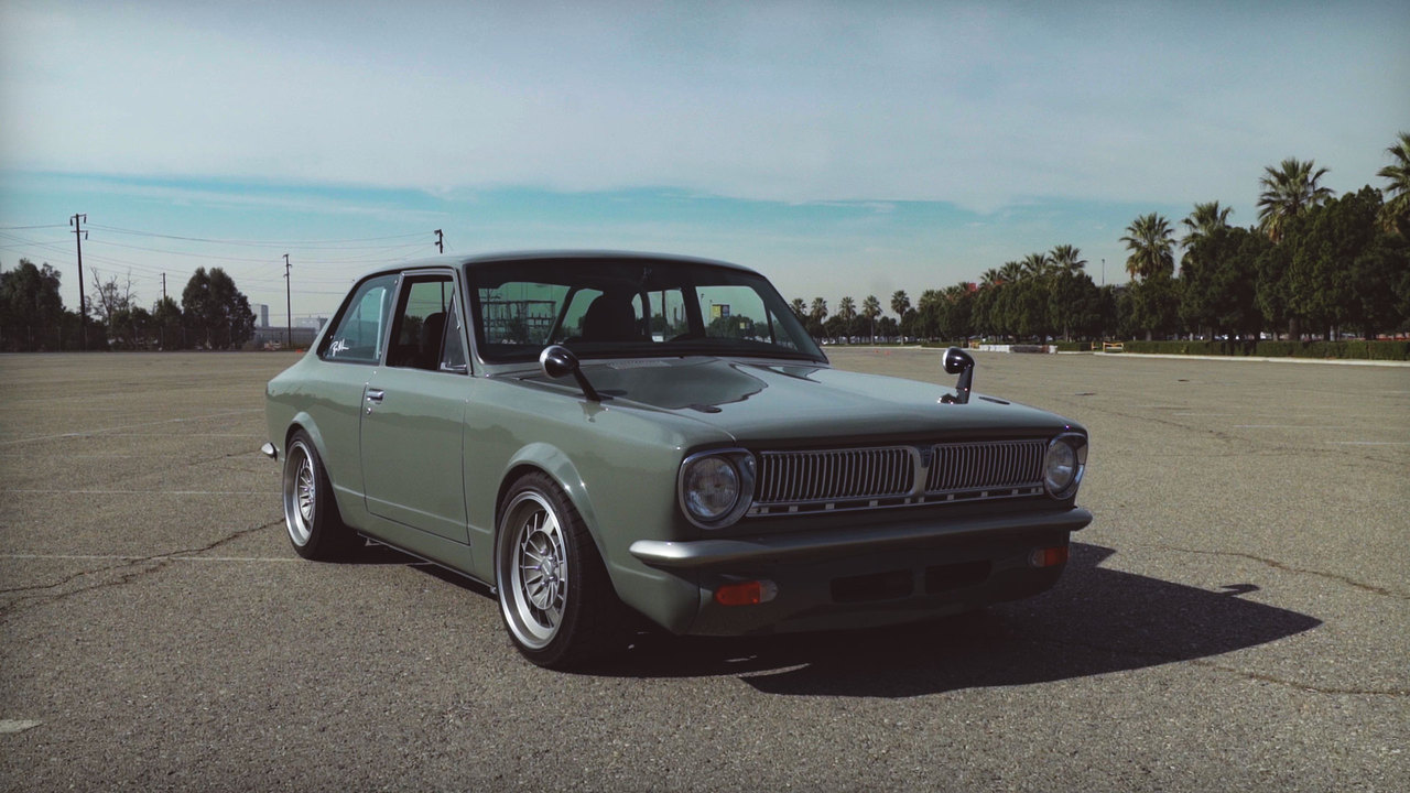 Watch This! Testing a 1969 Toyota Corolla Powered by a Lexus IS F V-8