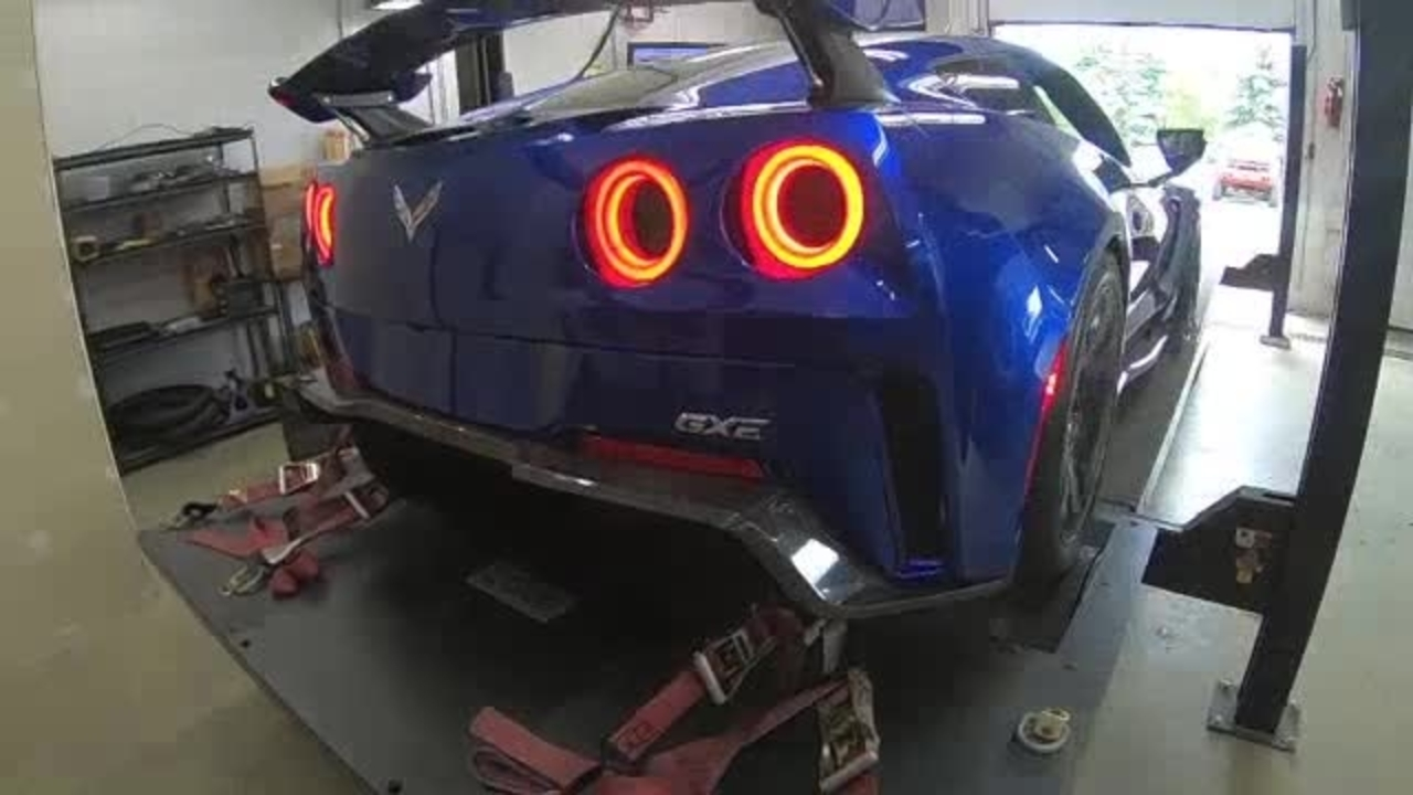Genovation GXE: Dyno Test of the Electric Corvette!