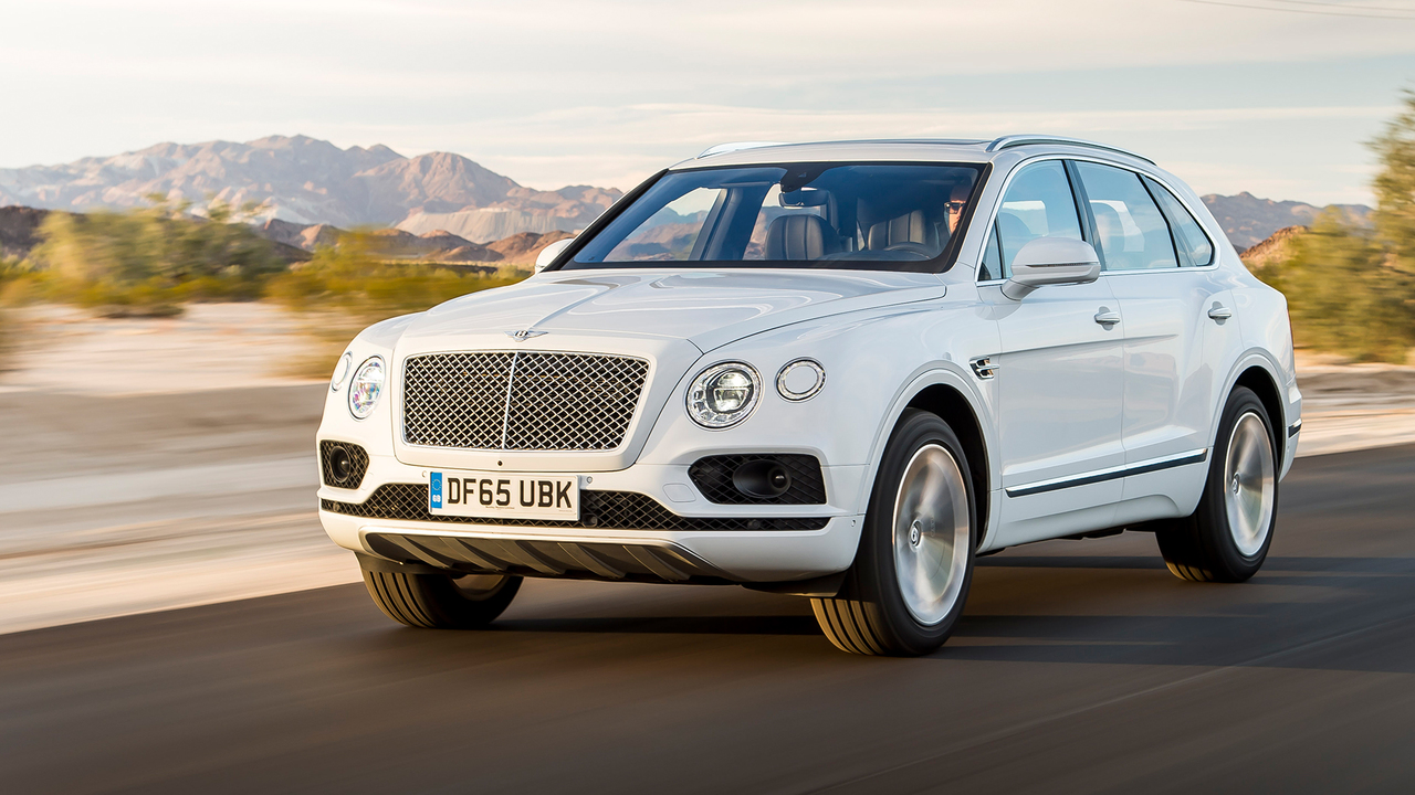 Behind the Wheel of the Bentley Bentayga W12