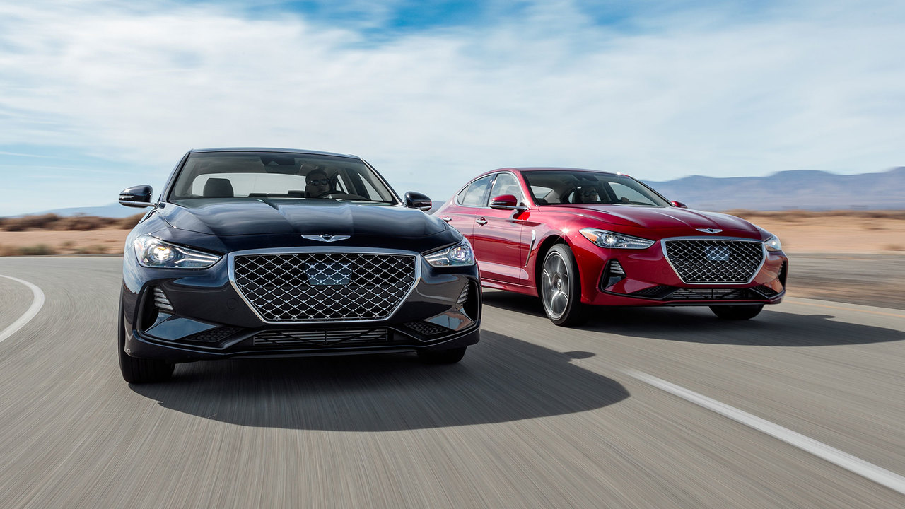 MotorTrend's 2019 Car of the Year: The Genesis G70