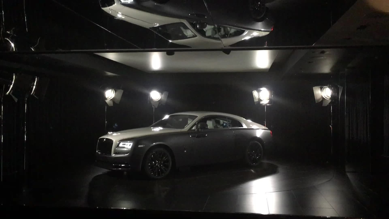 Rolls-Royce Presents the Wraith Eagle VIII Collection