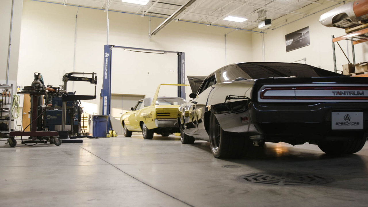 Walk the Shop: How SpeedKore Adds Lightness to American Muscle