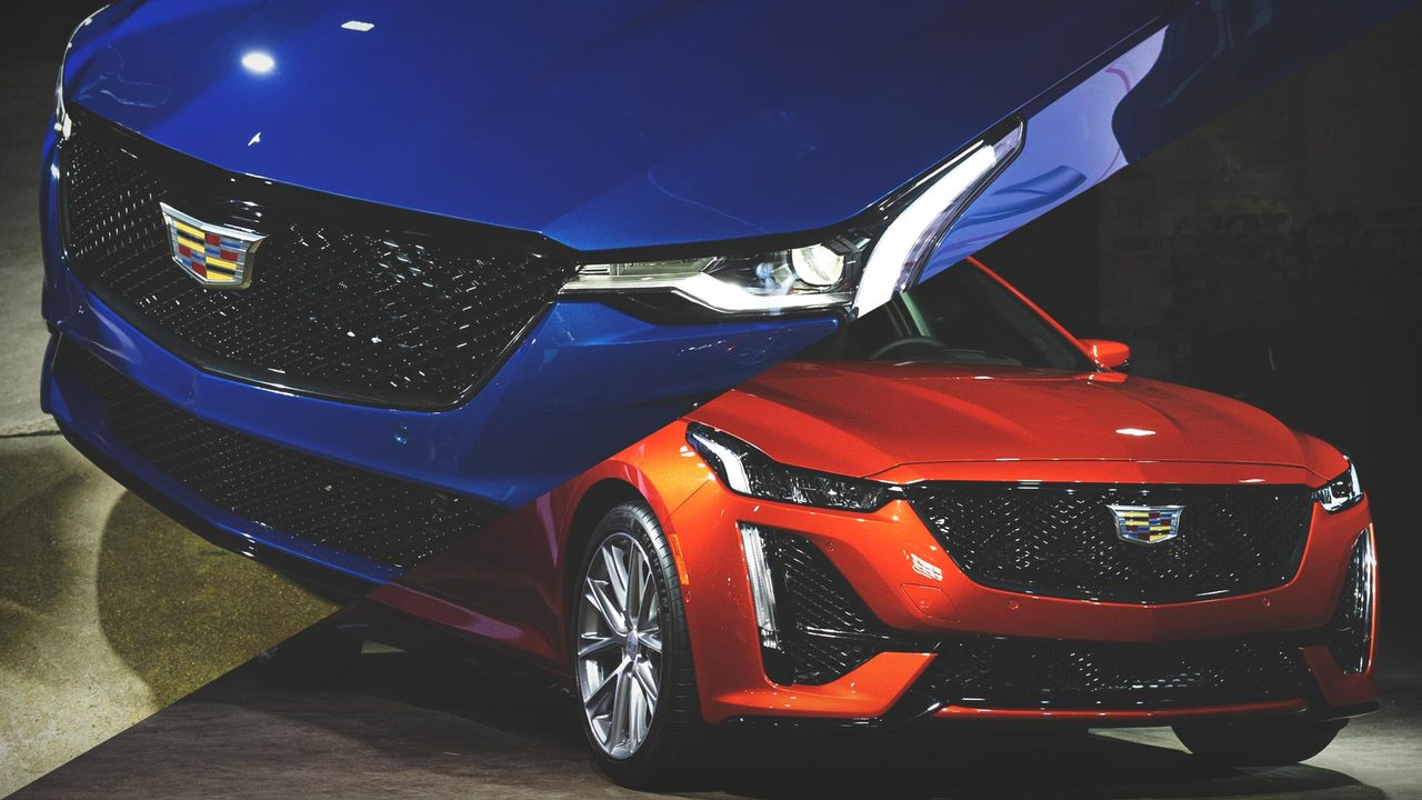 From the Pressroom: the Cadillac CT4-V and CT5-V