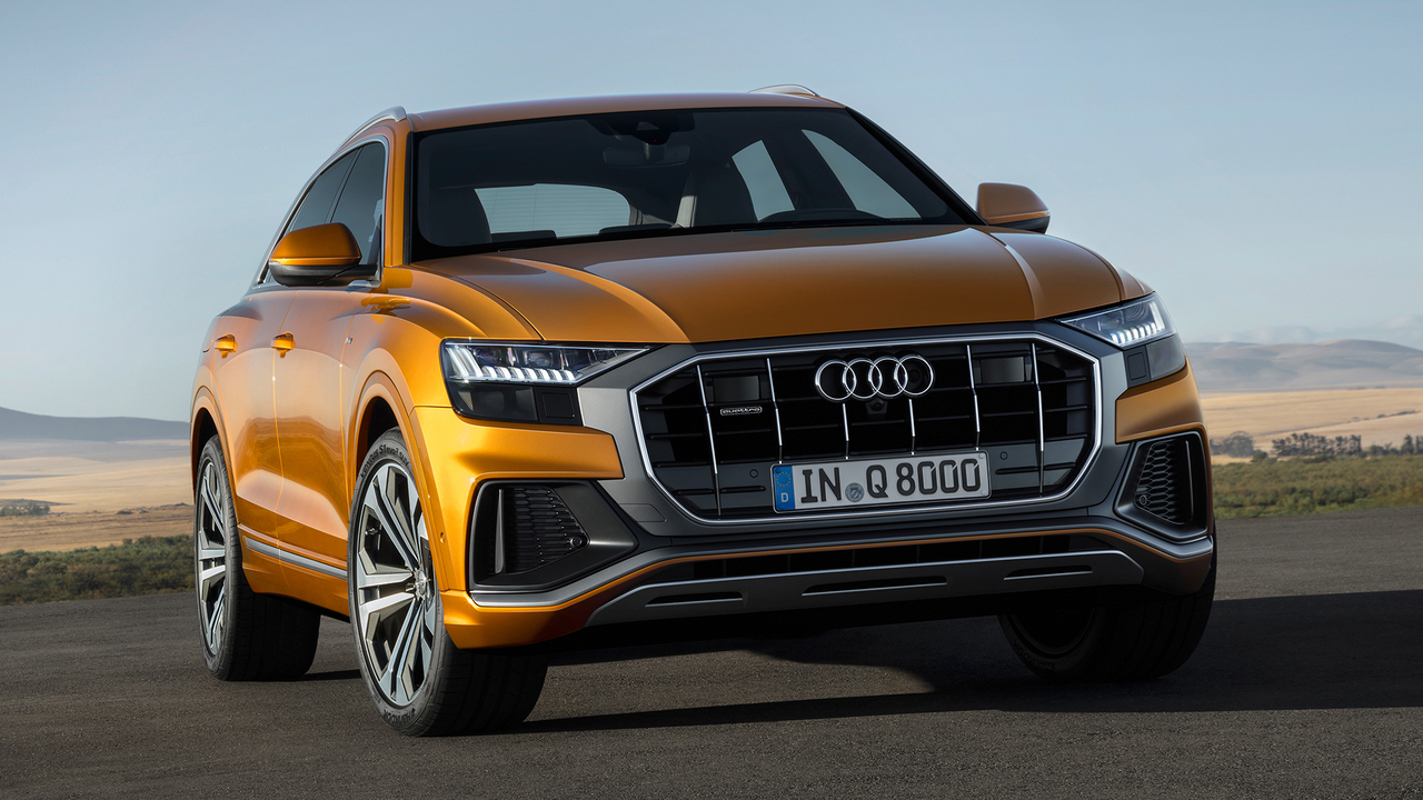 Behind the Wheel of the 2019 Audi Q8
