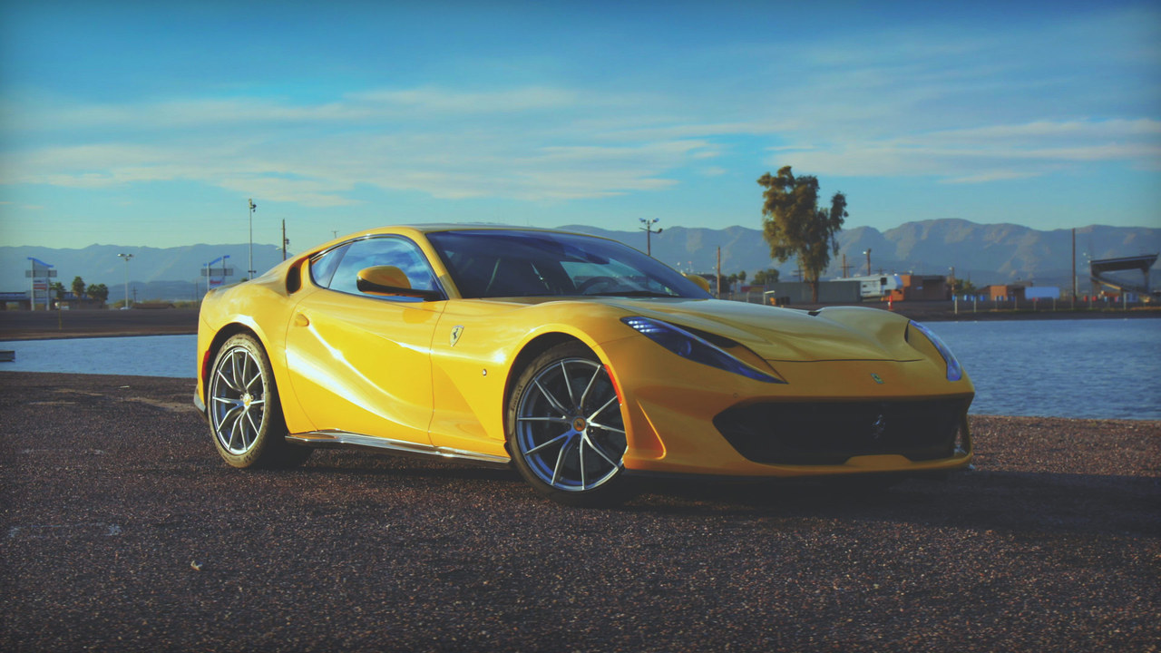Behind the Wheel: Jonny Lieberman Cruises the Canyons in Ferrari's 812 Superfast