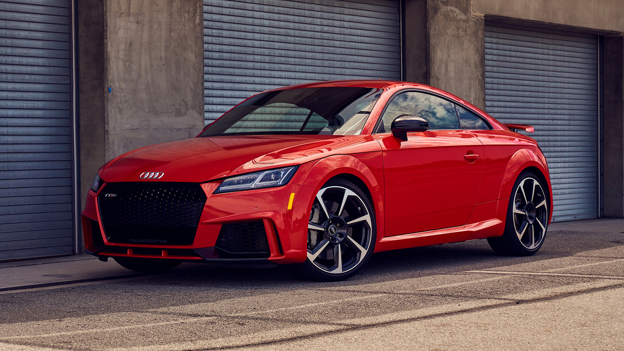 Best Driver's Car Contender: 2018 Audi TT RS
