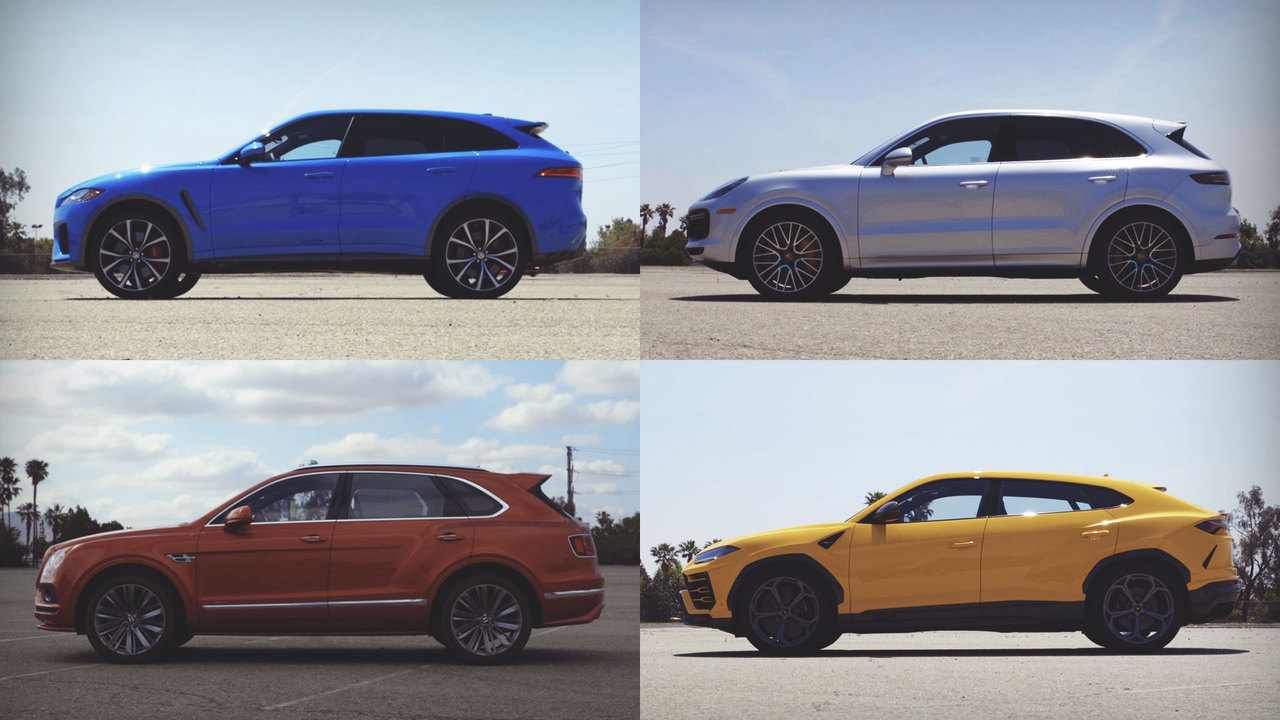 The Breakdown: Four Super-SUVs Compete for a Spot at Best Driver's Car