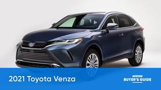 2021 Toyota Venza Video Review: MotorTrend Buyer's Guide