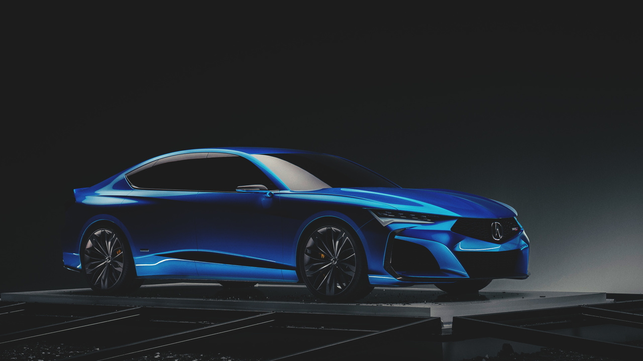 From the Pressroom: the Acura Type-S Concept