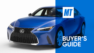2021 Lexus IS 300 AWD Video Review: MotorTrend Buyer's Guide