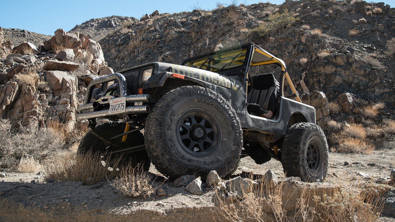 Behind the Wheel of the Wildest CJ Jeep Ever Built