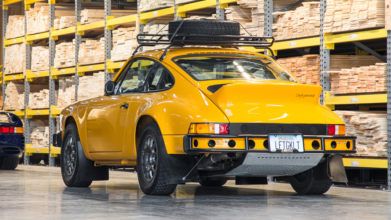 7 Reasons Why the Luftauto 002 Is the Coolest Off-Road 911