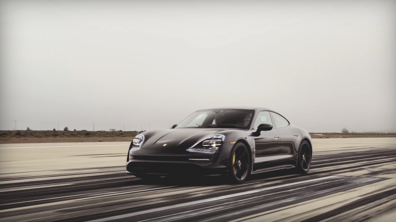 Watch This! Angus MacKenzie Gets an Early Look at the New Porsche Taycan EV