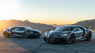 First Drive: The Bugatti Chiron Sport and Pur Sport