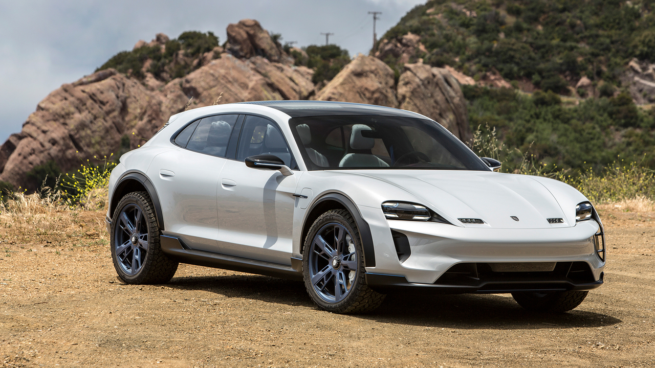 Driving the Electric Porsche SUV That Could Beat Tesla