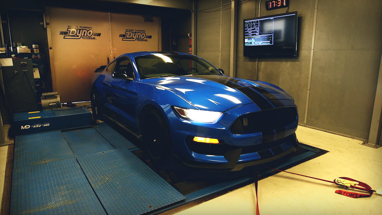 Watch This! Running a 2019 Mustang GT350 on the Dyno