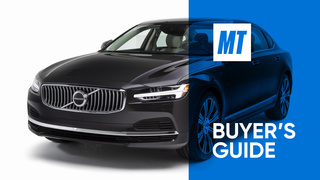 2021 Volvo S90 Recharge Video Review: MotorTrend Buyer's Guide