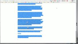 Thumbnail for entry Blackboard - Ett trix för att komma runt problemet att få ut SafeAssign-rapporter i färg
