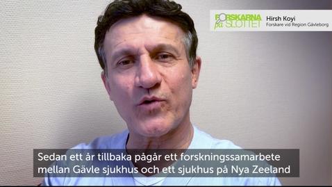 Hirsh Koyi - överläkare lungcancerenheten Gävle sjukhus