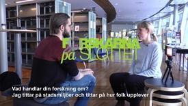 Thumbnail for entry Forskare Karl Samuelsson