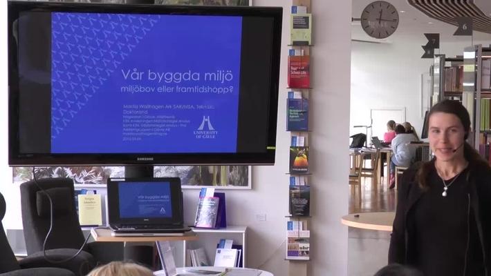 Föredragsserien 12 minuter över 12 – Marita Wallhagen