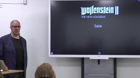 WOLFENSTEIN & VIDARE – OM BERÄTTANDE I SPEL