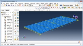 Thumbnail for entry Orthotropic deck in Abaqus 4(4)