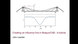 Thumbnail for entry Influence line in Abaqus CAE 1(2)