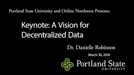 Thumbnail for entry Online Northwest 2018 Keynote