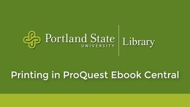 Thumbnail for entry Printing in Proquest EBook Central